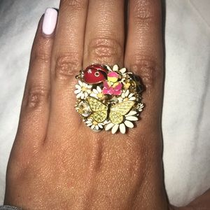 Juicy Couture Butterfly Ring 🦋